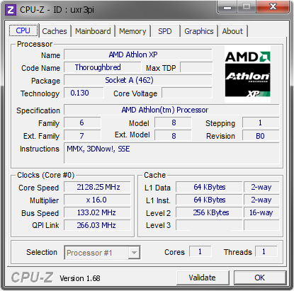 screenshot of CPU-Z validation for Dump [uxr3pi] - Submitted by  ANGELICAL_V4  - 2014-03-02 01:03:14