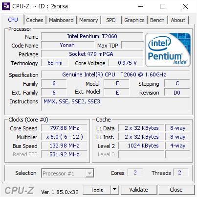 GENUINE INTELR CPU T2060 DESCARGAR CONTROLADOR