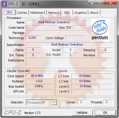 screenshot of CPU-Z validation for Dump [4j3nh1] - Submitted by  max1024, Belarus OC Team  - 2015-07-29 21:07:24