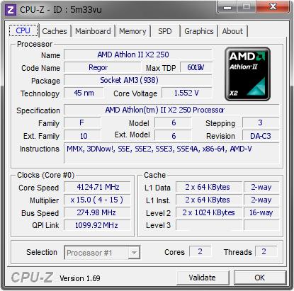 AMD ATHLON II X2 250 PROCESSOR DRIVER DOWNLOAD