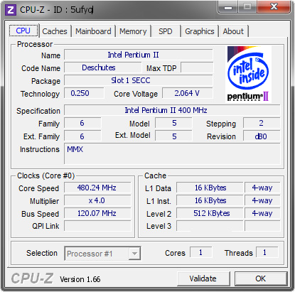 screenshot of CPU-Z validation for Dump [5ufyql] - Submitted by  notipa  - 2014-01-30 05:01:08
