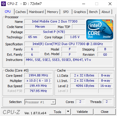INTEL CORE 2 DUO T7300 WINDOWS 8 X64 DRIVER