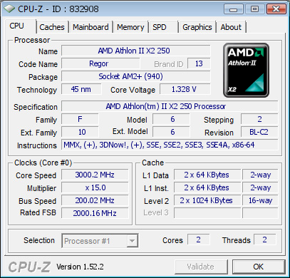 AMD 785G IGP-Test-Setup