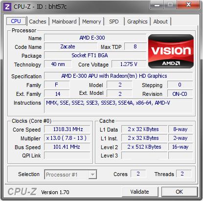 NEW DRIVERS: AMD E-300 APU
