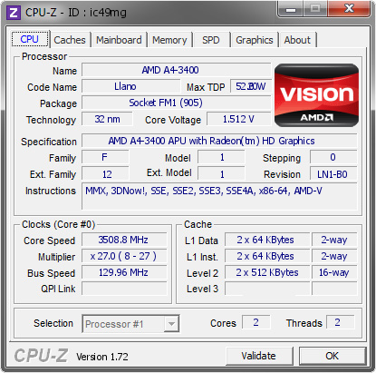 AMD A4-3400 APU DESKTOP PROCESSOR DRIVER FOR PC