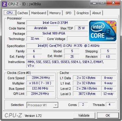 INTEL CORE I3 CPU M370 WINDOWS 10 DRIVER DOWNLOAD