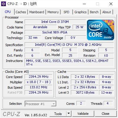 INTEL CORE I3 CPU M370 WINDOWS 7 DRIVERS DOWNLOAD (2019)