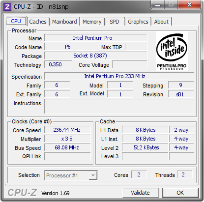 Cpu-z similar software   Download CPU  2019-04-10
