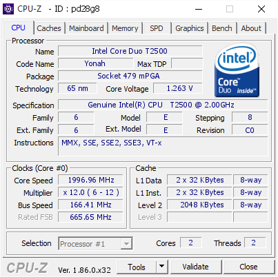 GENUINE INTEL R CPU T2500 DRIVERS FOR WINDOWS 8