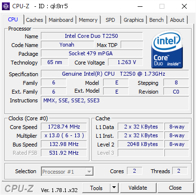 GENUINE INTEL CPU T2250 WINDOWS 10 DRIVERS DOWNLOAD