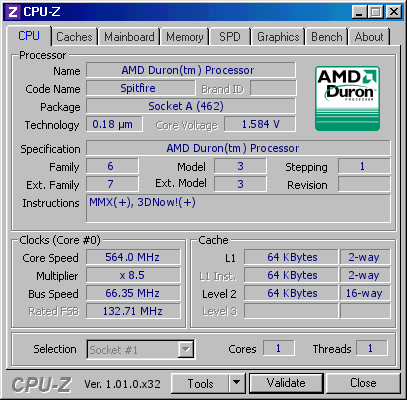 screenshot of CPU-Z validation for Dump [t6d9yj] - Submitted by  mirzi  - 2020-07-08 09:55:49