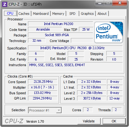 INTEL PENTIUM P6200 HD GRAPHICS WINDOWS 7 64BIT DRIVER