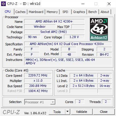 athlon 64 x2 4200